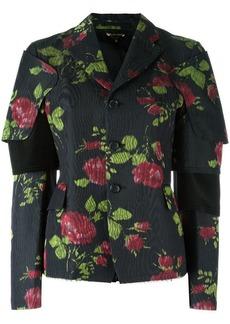 Comme des Garçons flower print jacket