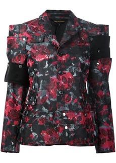 Comme des Garçons flowers jacquard jacket
