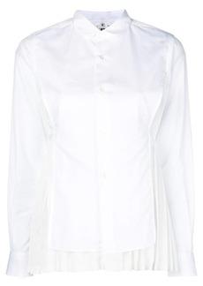 Comme des Garçons front-panel pleated shirt