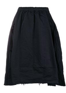 Comme des Garçons full asymmetric hem skirt