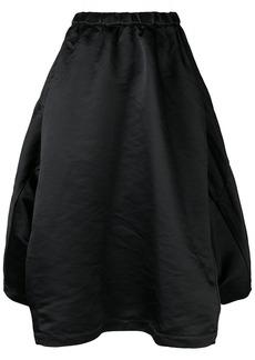 Comme des Garçons full draped skirt