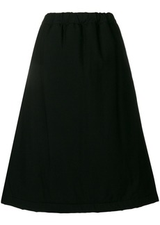 Comme des Garçons full flared A-line skirt