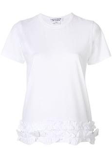 Comme des Garçons gathered hem T-shirt