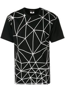 Comme des Garçons geometric print T-shirt