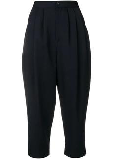 Comme des Garçons harem cropped trousers