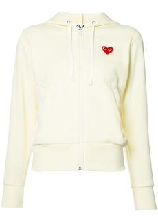 Comme des Garçons heart logo hoodie