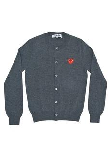 Comme des Garçons Heart Wool Cardigan