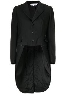Comme des Garçons high low tuxedo jacket