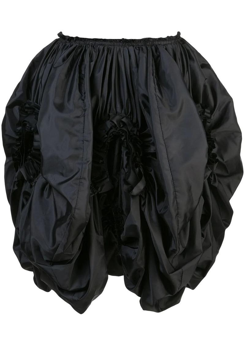 Comme des Garçons high-waist ruffled skirt