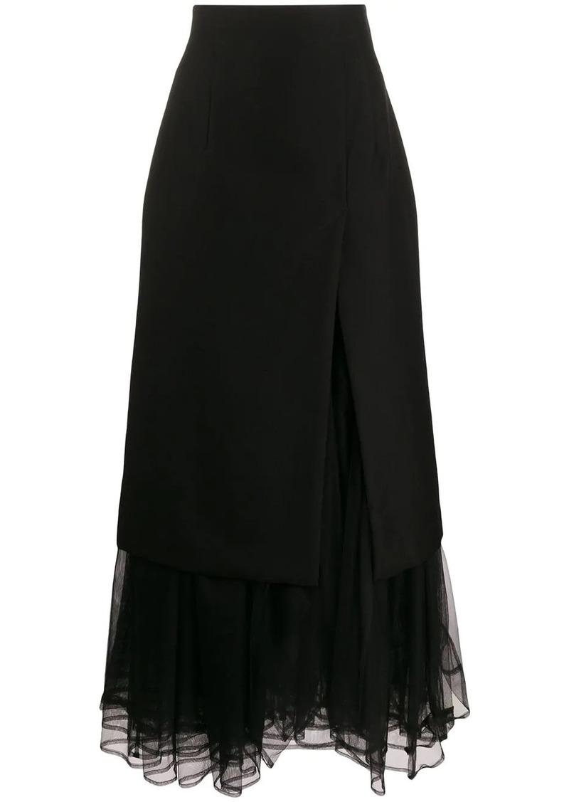 Comme des Garçons high-waisted layered skirt