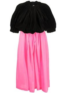 Comme des Garçons high-waisted pleated dress