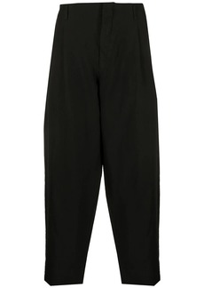 Comme des Garçons high-waisted tapered trousers
