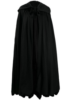 Comme des Garçons long hooded wool cape