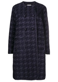 Comme des Garçons houndstooth double-breasted coat