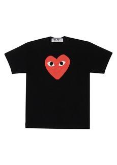 Comme des Garçons Large Heart Graphic T-Shirt