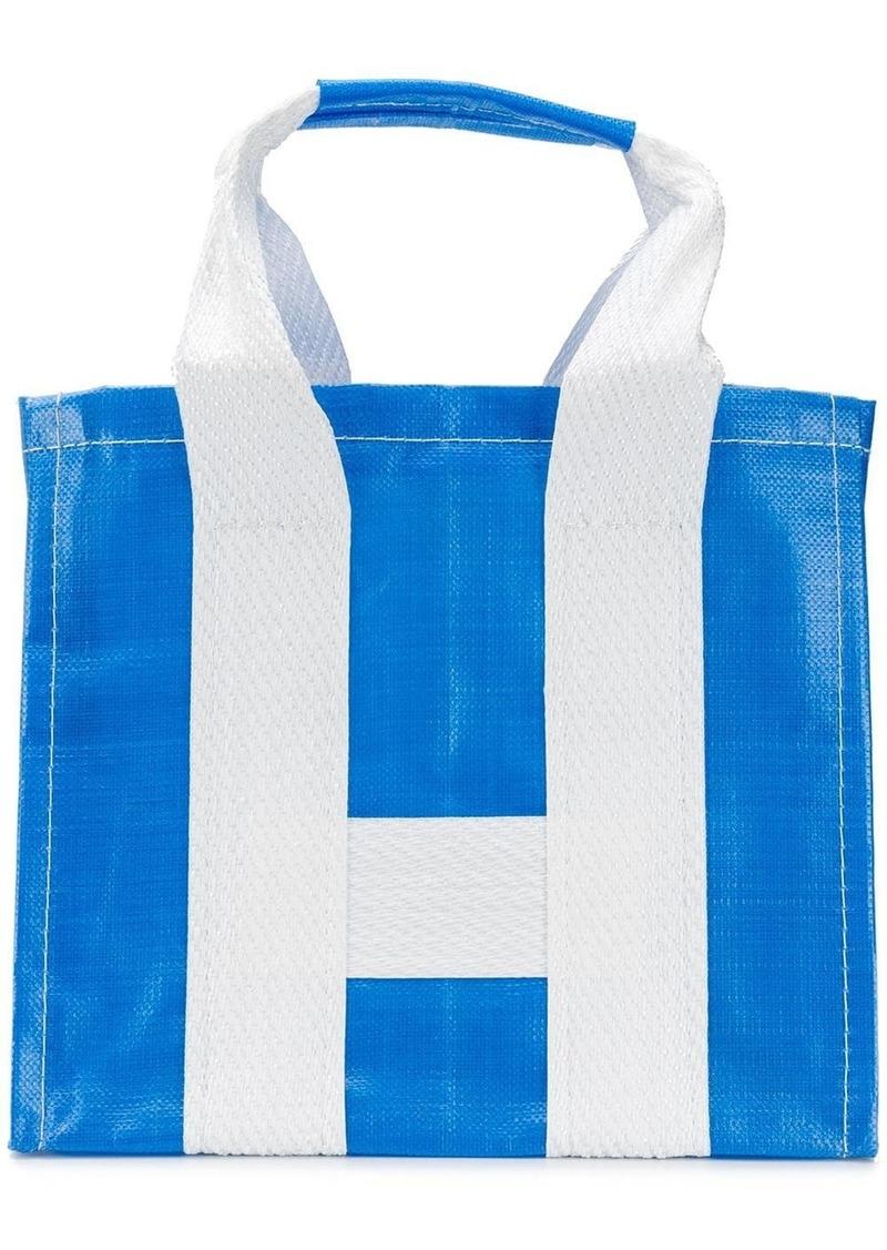 Comme des Garçons large shopping bag