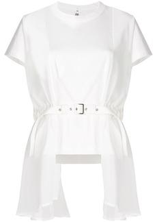 Comme des Garçons layered belt T-shirt