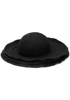Comme des Garçons layered brim hat