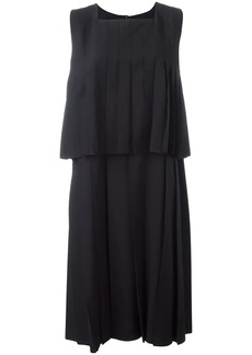 Comme des Garçons layered pleated dress