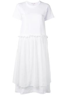 Comme des Garçons layered T-shirt dress