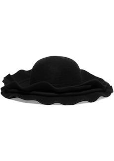 Comme des Garçons Layered Wool-felt Hat
