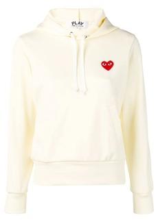 Comme des Garçons logo embroidered hoodie