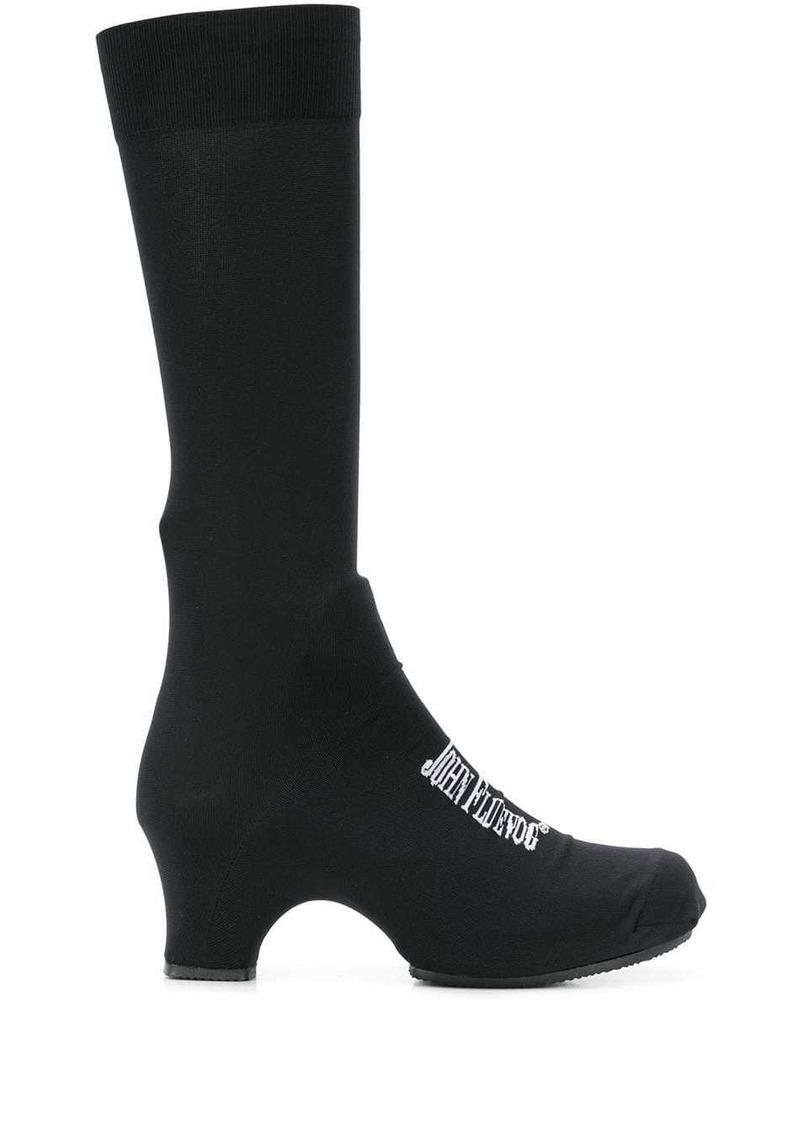 Comme des Garçons logo sock boots