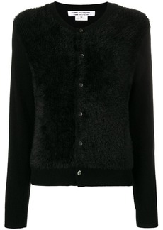Comme des Garçons long-sleeve fitted cardigan