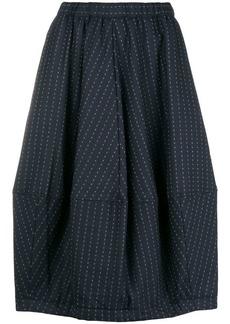 Comme des Garçons micro squares patterned skirt