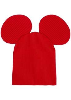 Comme des Garçons mouse ears beanie hat