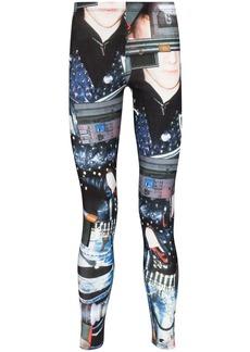Comme des Garçons graphic-print leggings
