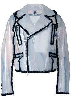 Comme des Garçons off-center zipped jacket