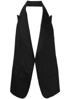 Comme des Garçons open back waistcoat