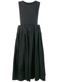 Comme des Garçons overlay mid-length dress