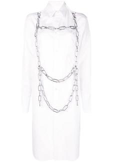 Comme des Garçons oversized chain harness shirt