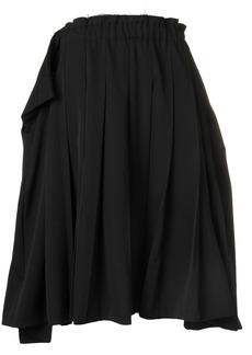 Comme des Garçons oversized pleated skirt