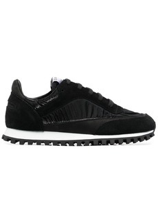 Comme des Garçons panelled low-top sneakers