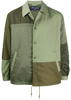 Comme des Garçons patchwork effect jacket
