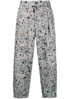 Comme des Garçons pebble printed trousers