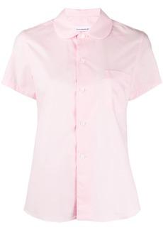 Comme des Garçons Peter Pan collar short sleeve shirt