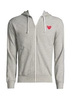 Comme des Garçons Play Zip Hooded Sweater