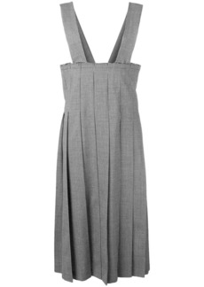 Comme des Garçons pleated pinafore dress