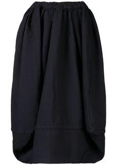 Comme des Garçons pleated puffball skirt