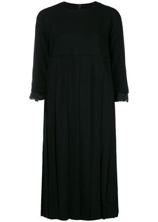 Comme des Garçons pleated shift dress