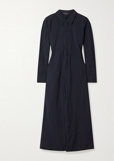 Comme des Garçons Poplin Midi Shirt Dress