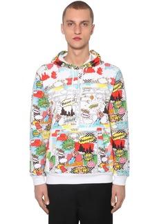 Comme des Garçons Printed Cotton Jersey Sweatshirt Hoodie