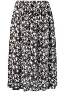 Comme des Garçons printed skirt