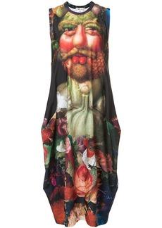 Comme des Garçons printed tank dress