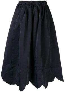 Comme des Garçons raw edge asymmetric skirt