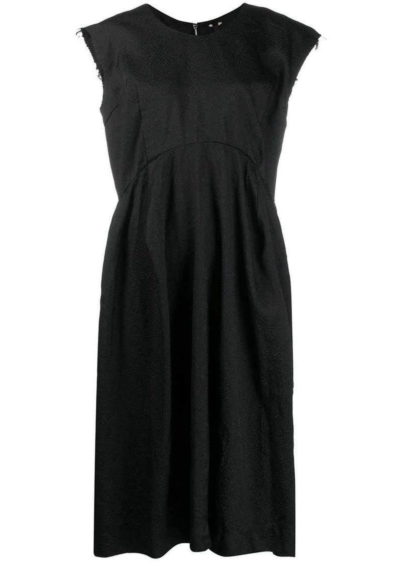 Comme des Garçons raw sleeveless dress